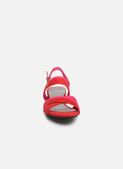 Sandales et nu-pieds Marco Tozzi Leyla Rouge vue portées chaussures
