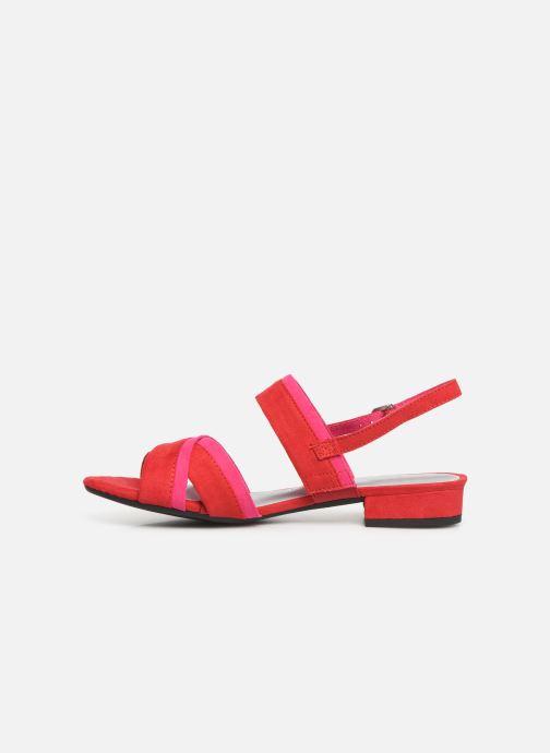 Sandales et nu-pieds Marco Tozzi Leyla Rouge vue face