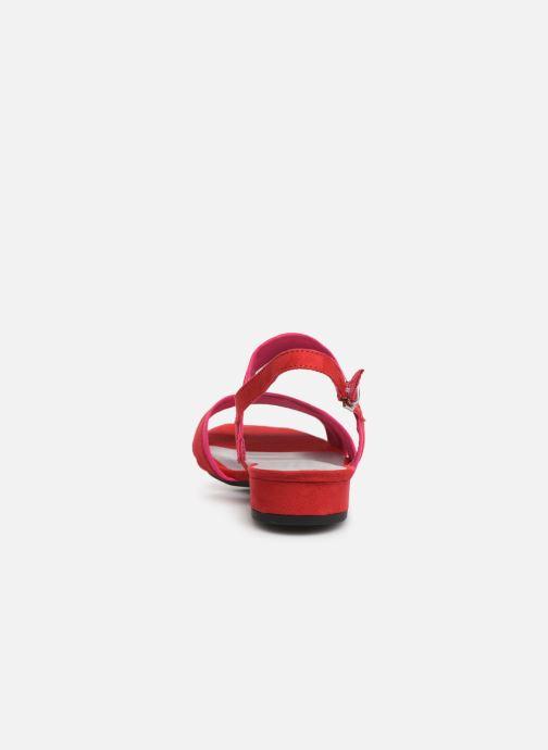 Sandales et nu-pieds Marco Tozzi Leyla Rouge vue droite