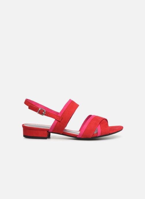 Sandales et nu-pieds Marco Tozzi Leyla Rouge vue derrière