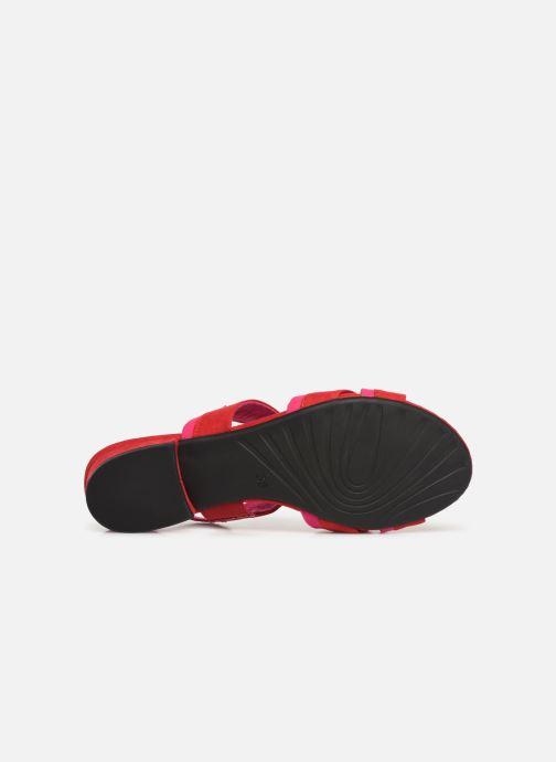 Sandales et nu-pieds Marco Tozzi Leyla Rouge vue haut
