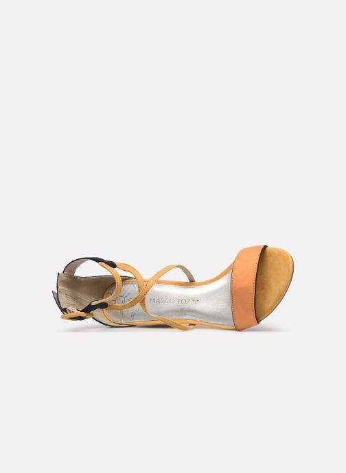 Sandales et nu-pieds Marco Tozzi Orfee Jaune vue gauche