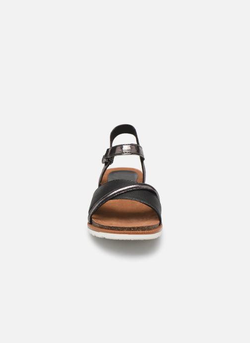 Sandali e scarpe aperte Marco Tozzi Idil Multicolore modello indossato