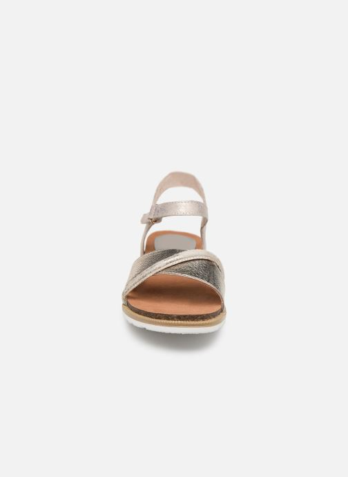 Sandali e scarpe aperte Marco Tozzi Idil Beige modello indossato