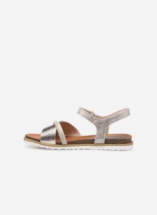 Sandales et nu-pieds Marco Tozzi Idil Beige vue face