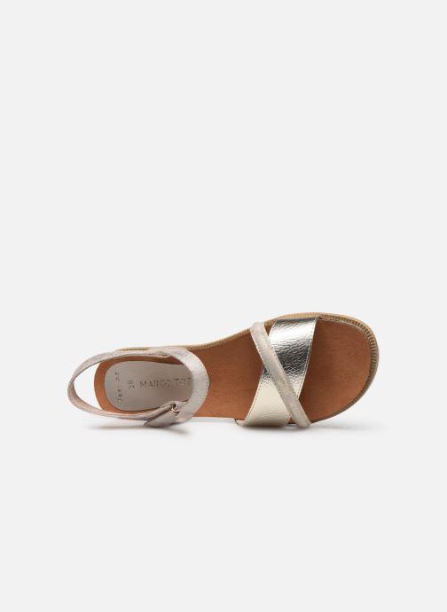 Sandales et nu-pieds Marco Tozzi Idil Beige vue gauche
