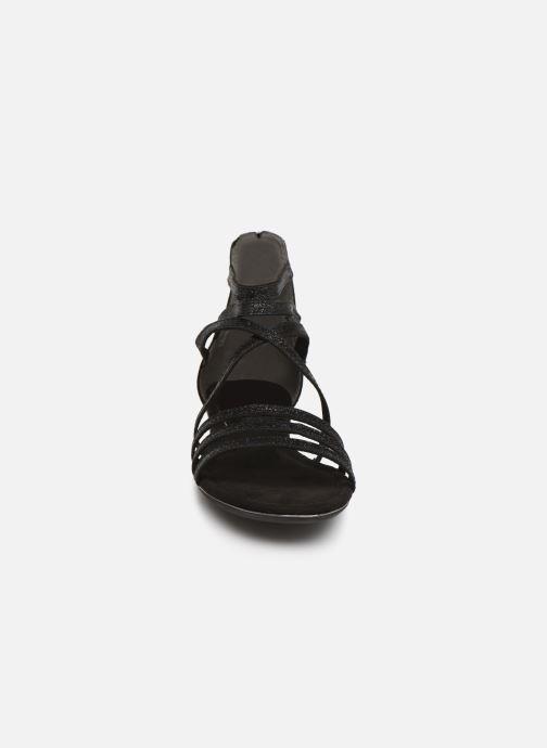 Sandales et nu-pieds Marco Tozzi Amanda Noir vue portées chaussures