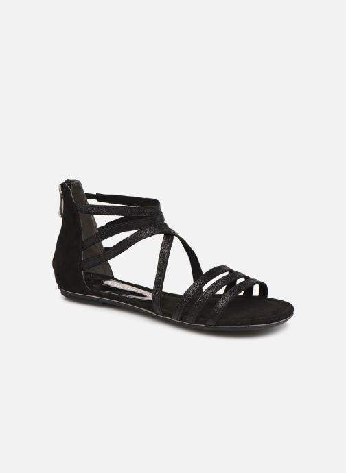 Sandales et nu-pieds Marco Tozzi Amanda Noir vue détail/paire