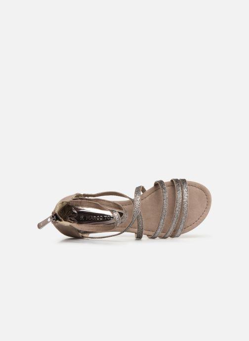 Sandales et nu-pieds Marco Tozzi Amanda Beige vue gauche