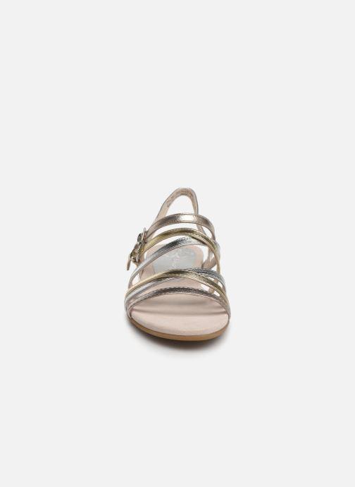 Sandales et nu-pieds Marco Tozzi Allis Argent vue portées chaussures