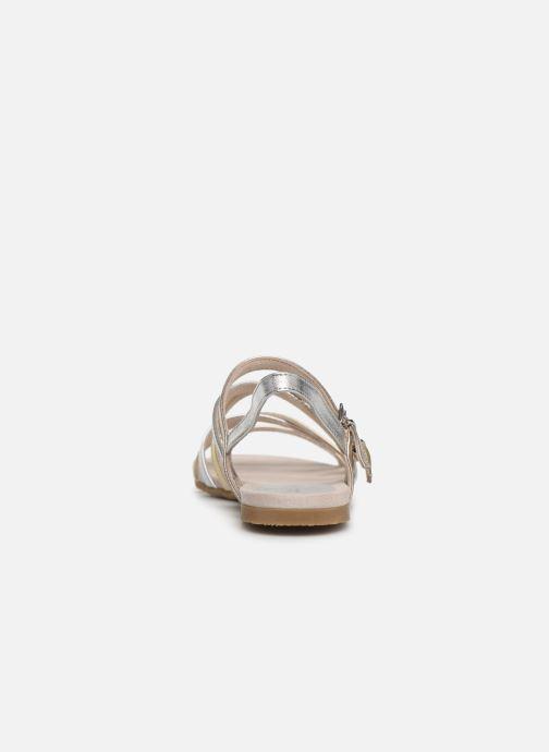 Sandales et nu-pieds Marco Tozzi Allis Argent vue droite