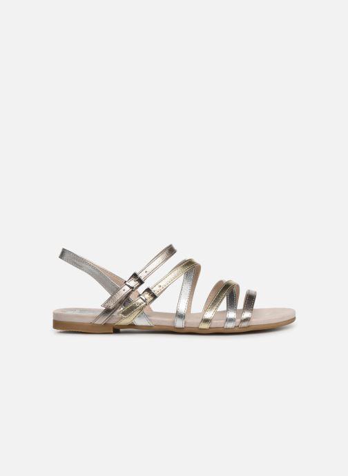 Sandales et nu-pieds Marco Tozzi Allis Argent vue derrière