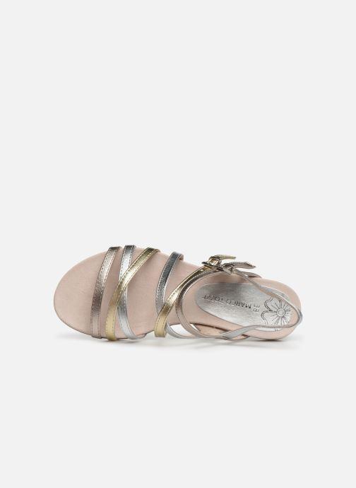 Sandales et nu-pieds Marco Tozzi Allis Argent vue gauche