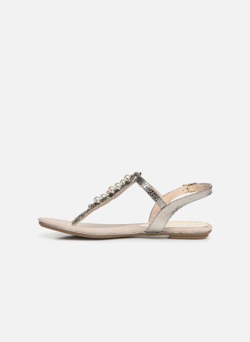 Sandales et nu-pieds Marco Tozzi Mirna Argent vue face