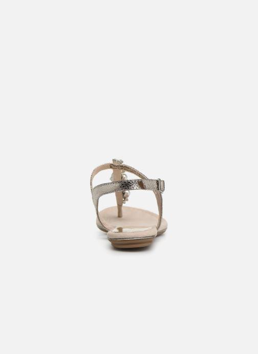 Sandales et nu-pieds Marco Tozzi Mirna Argent vue droite