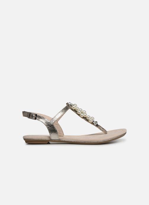 Sandales et nu-pieds Marco Tozzi Mirna Argent vue derrière