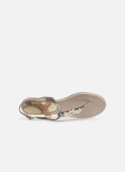 Sandales et nu-pieds Marco Tozzi Mirna Argent vue gauche