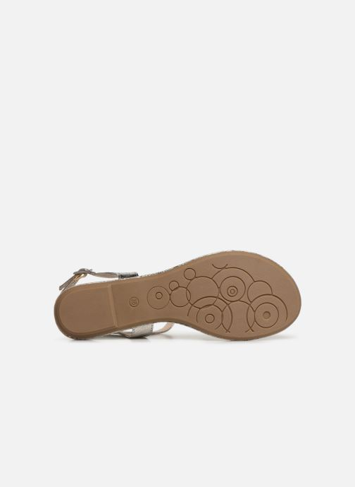 Sandales et nu-pieds Marco Tozzi Mirna Argent vue haut