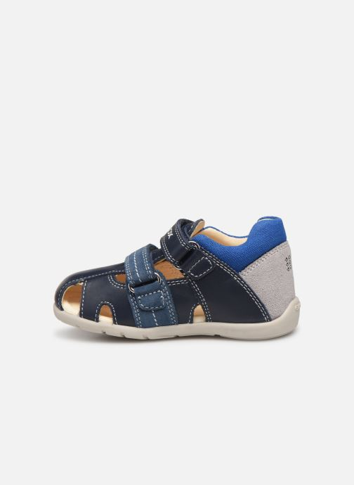 Sandalen Geox B Kaytan B9250B blau ansicht von vorne
