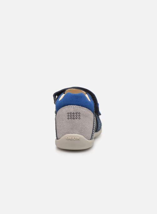 Sandalen Geox B Kaytan B9250B blau ansicht von rechts