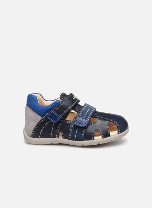 Sandalen Geox B Kaytan B9250B blau ansicht von hinten