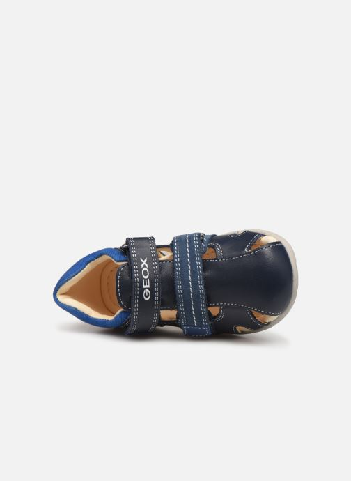 Sandalias Geox B Kaytan B9250B Azul vista lateral izquierda