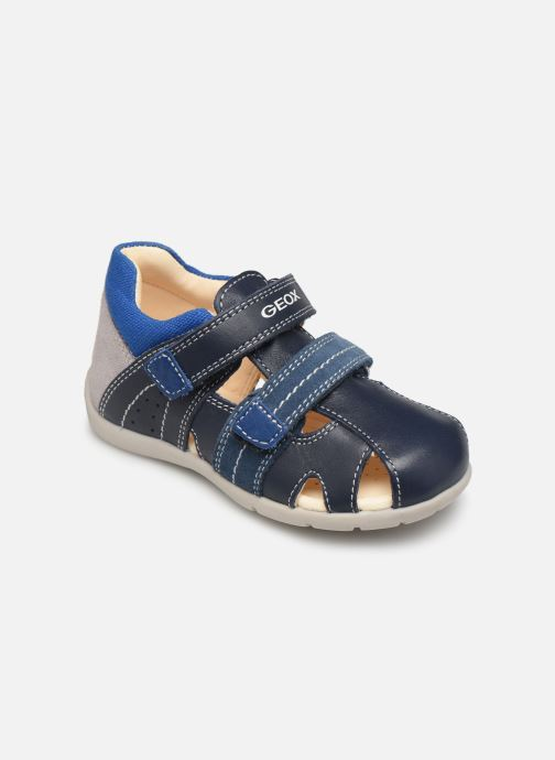 Sandales et nu-pieds Geox B Kaytan B9250B Bleu vue détail/paire