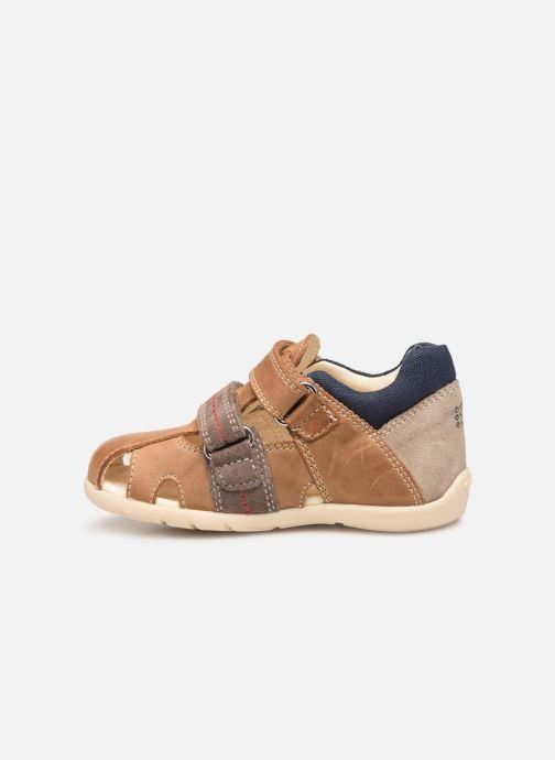 Sandales et nu-pieds Geox B Kaytan B9250B Marron vue face
