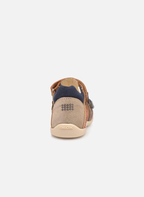 Sandales et nu-pieds Geox B Kaytan B9250B Marron vue droite