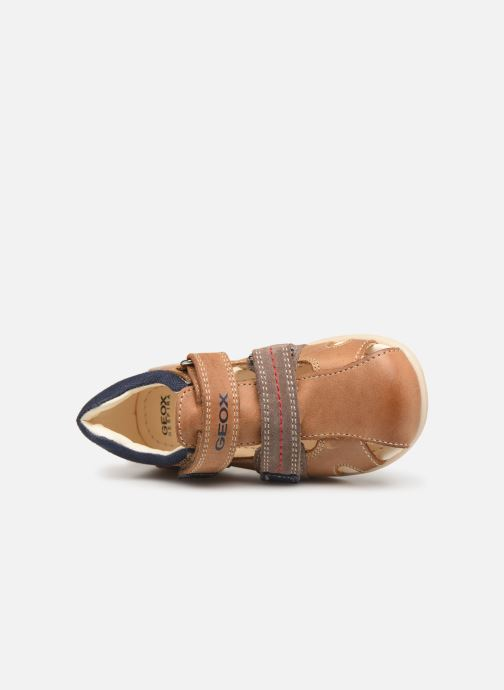 Sandales et nu-pieds Geox B Kaytan B9250B Marron vue gauche
