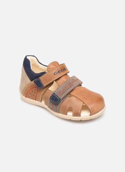 Sandales et nu-pieds Geox B Kaytan B9250B Marron vue détail/paire
