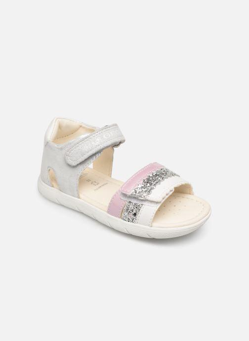 Sandales et nu-pieds Geox B Sandal Alul Girl B921YB Argent vue détail/paire