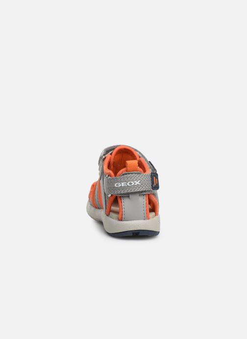 Sandales et nu-pieds Geox B Sandal Multy Boy B920FB Gris vue droite