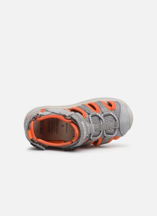 Sandales et nu-pieds Geox B Sandal Multy Boy B920FB Gris vue gauche