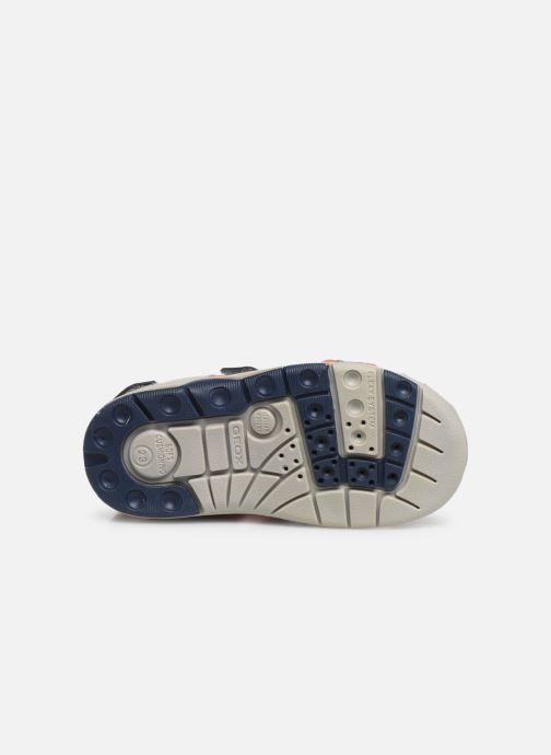Sandales et nu-pieds Geox B Sandal Multy Boy B920FB Gris vue haut