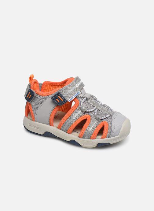 Sandales et nu-pieds Geox B Sandal Multy Boy B920FB Gris vue détail/paire