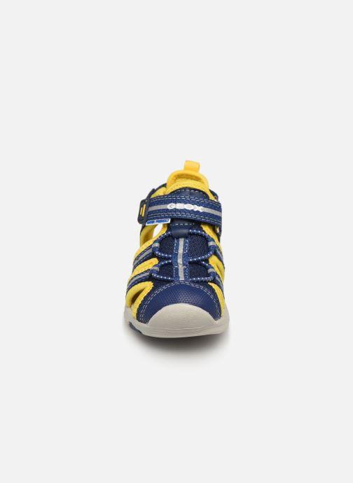 Sandalen Geox B Sandal Multy Boy B920FB blau schuhe getragen