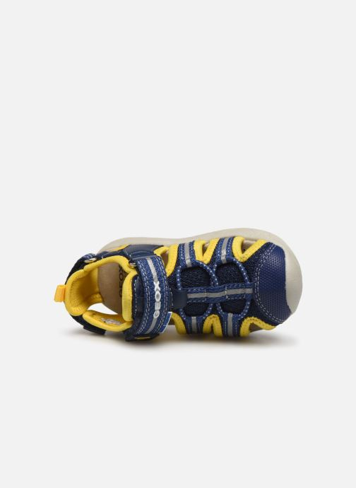 Sandalen Geox B Sandal Multy Boy B920FB Blauw links