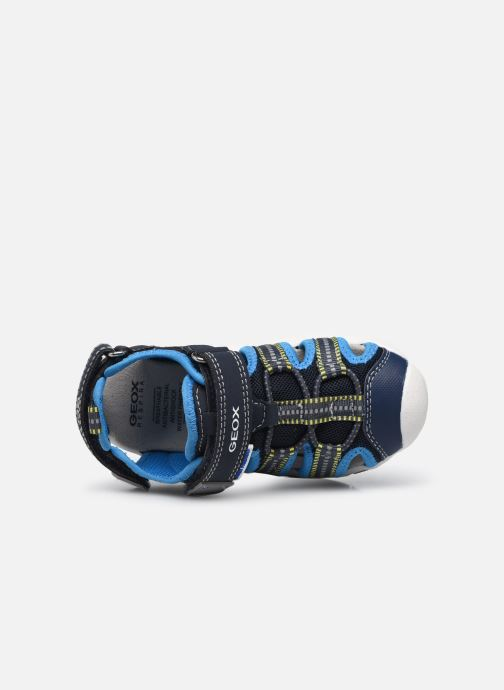 Sandalen Geox B Sandal Multy Boy B920FB blau ansicht von links