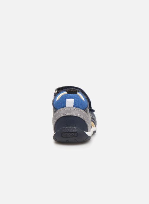 Sandales et nu-pieds Geox B Sandal Tapuz Boy B920XB Bleu vue droite
