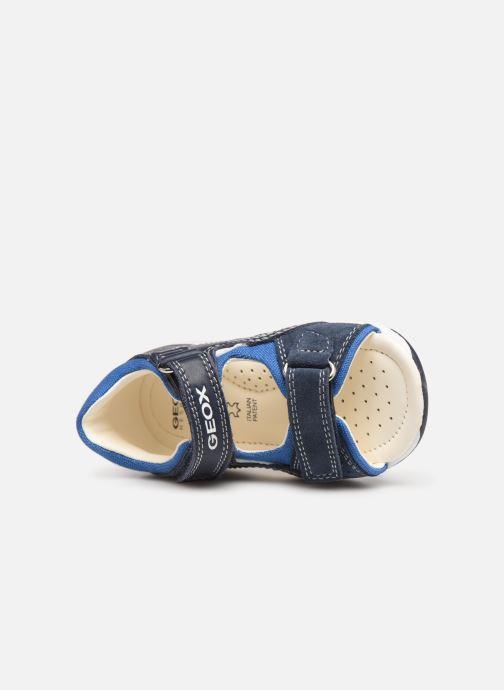 Sandales et nu-pieds Geox B Sandal Tapuz Boy B920XB Bleu vue gauche