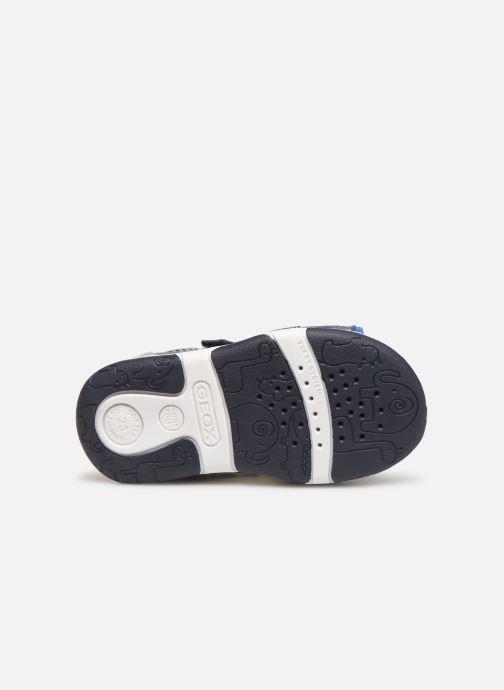 Sandales et nu-pieds Geox B Sandal Tapuz Boy B920XB Bleu vue haut