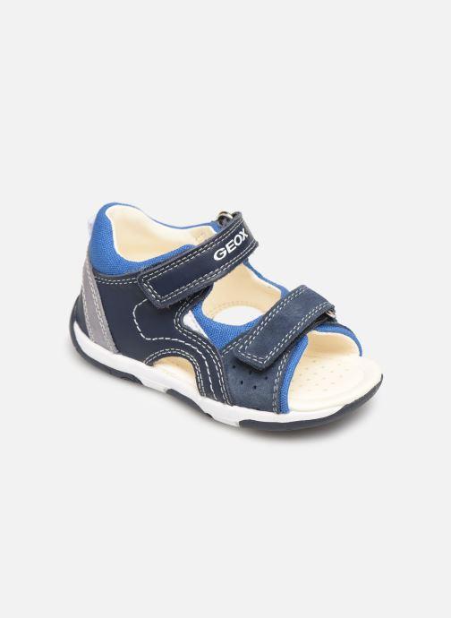 Sandales et nu-pieds Geox B Sandal Tapuz Boy B920XB Bleu vue détail/paire