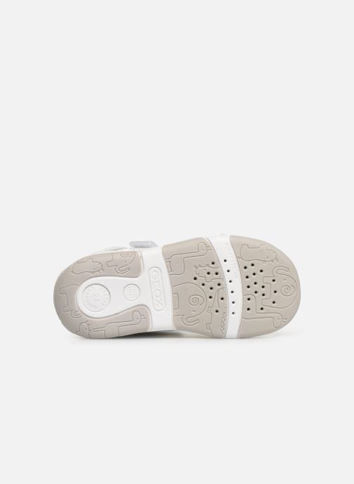 Sandals Geox B Sandal Tapuz Girl B920YC Grey view from above