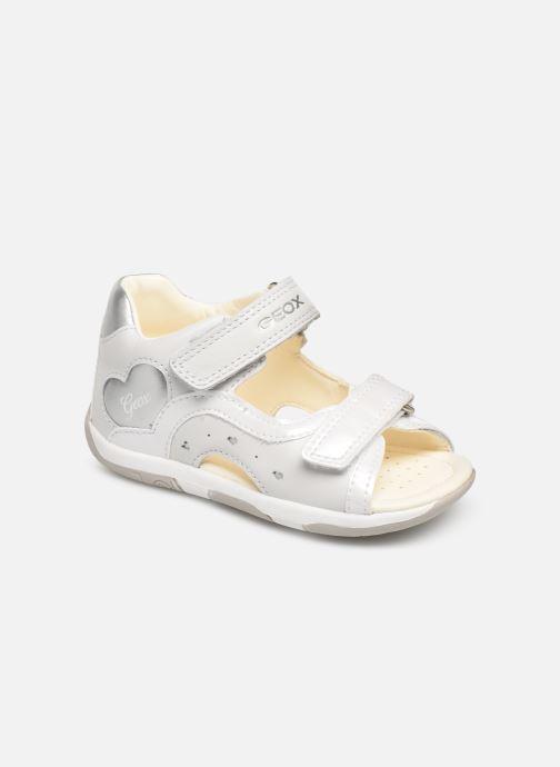 Sandaler Geox B Sandal Tapuz Girl B920YC Grå detaljeret billede af skoene