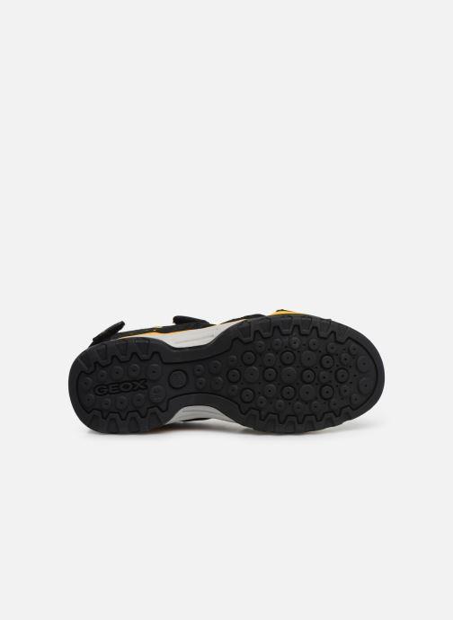 Sandales et nu-pieds Geox J Borealis Boy J920RB Noir vue haut