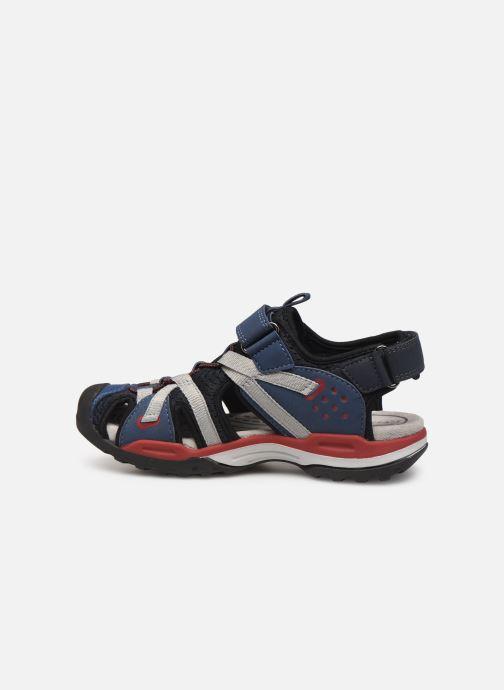 Sandales et nu-pieds Geox J Borealis Boy J920RB Bleu vue face