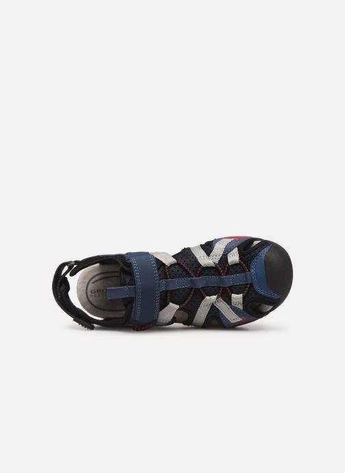 Sandales et nu-pieds Geox J Borealis Boy J920RB Bleu vue gauche