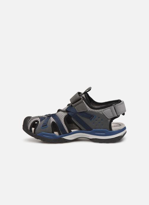 Sandalen Geox J Borealis Boy J920RB blau ansicht von vorne