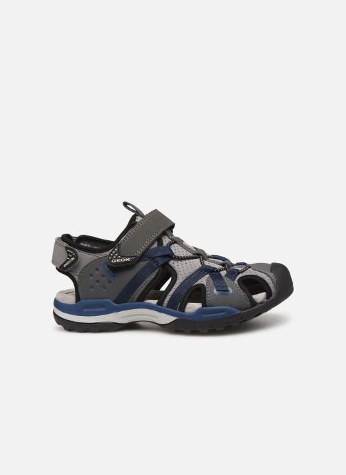 Sandalen Geox J Borealis Boy J920RB Blauw achterkant